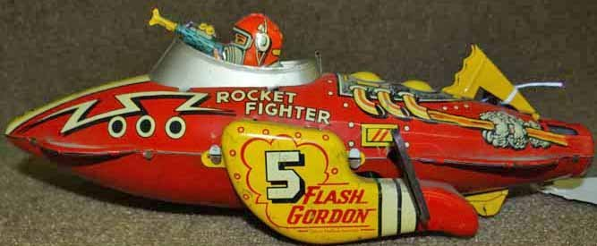 Flash Gordon Wind-Up Rocket