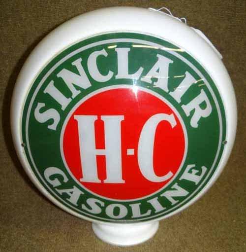 Sinclair HC Gas Pump Globe