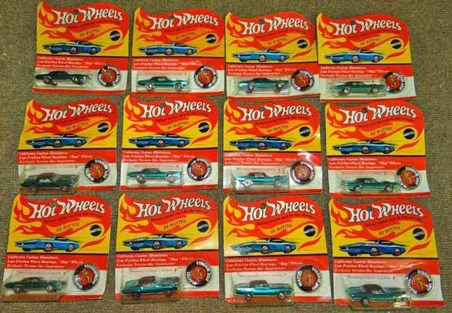 Mattel Hot Wheel Cars