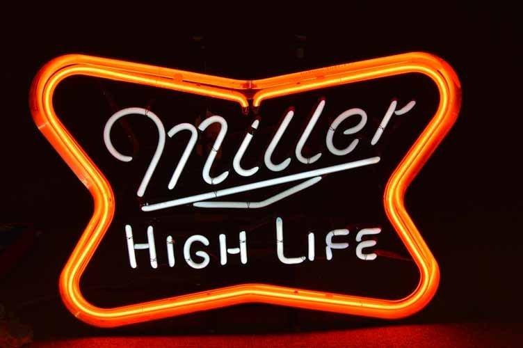 Miller High Life Neon Sign - 2
