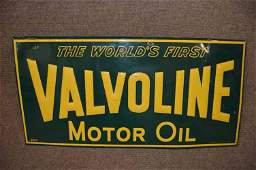 Vallvoline Motor Oil Sign