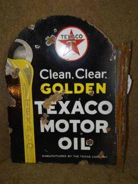 Texaco Flange Sign