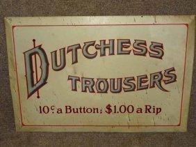 """dutchess Trousers"" Display"