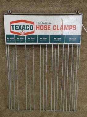 Texaco Hose Clamp Rack