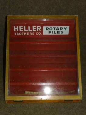 Heller Brothers Display Case