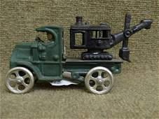 Hubley Steam Shovel Truck