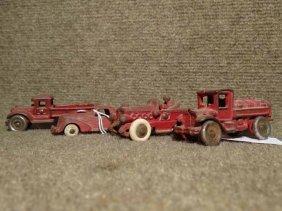 (4) Cast Iron Vehicles