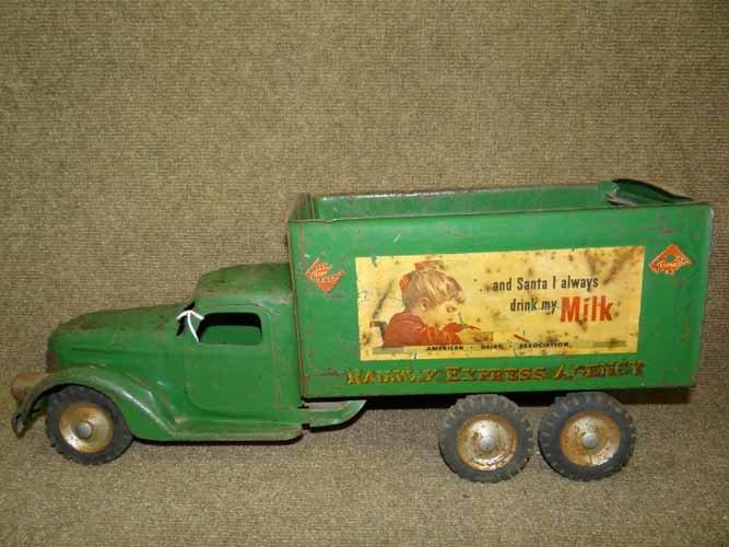 Buddy L Railway Express Truck