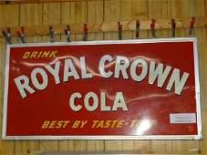 Drink Royal Crown Cola Sign