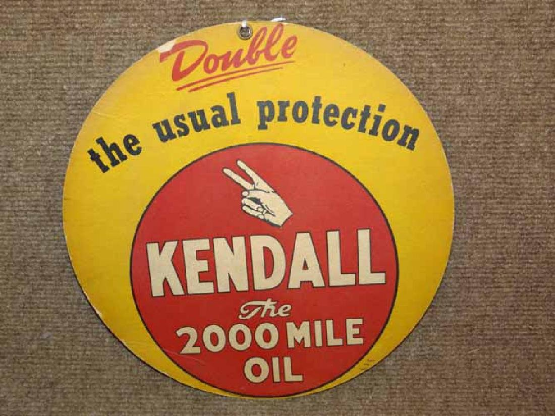 Kendall Paper Window  Sign