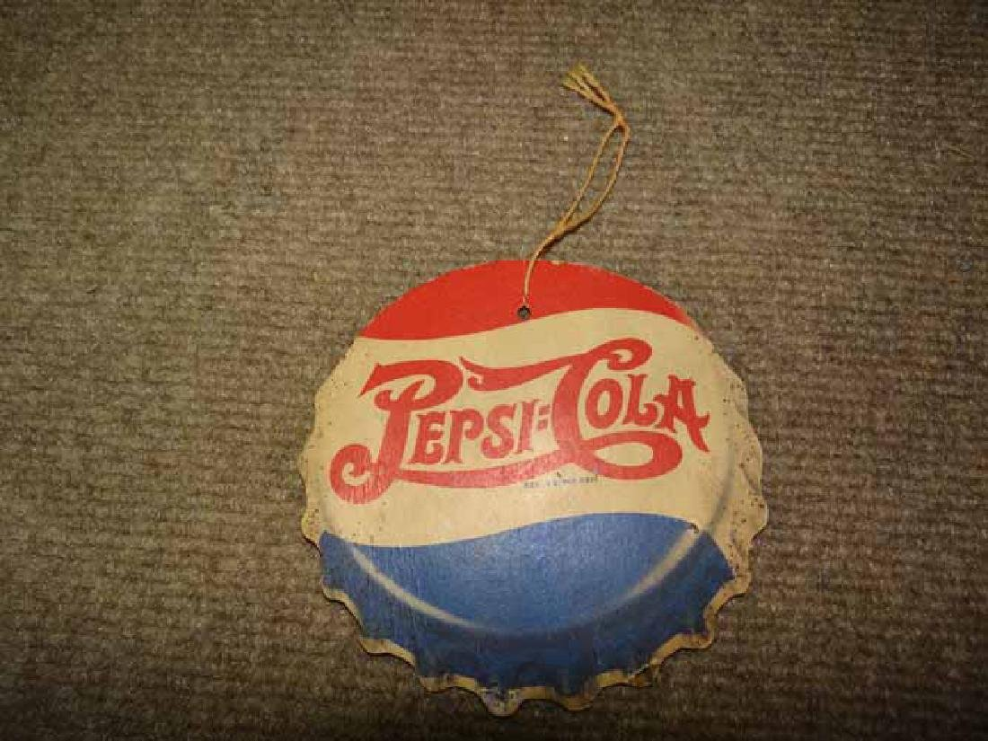 Early Pepsi Cola Fan Pull
