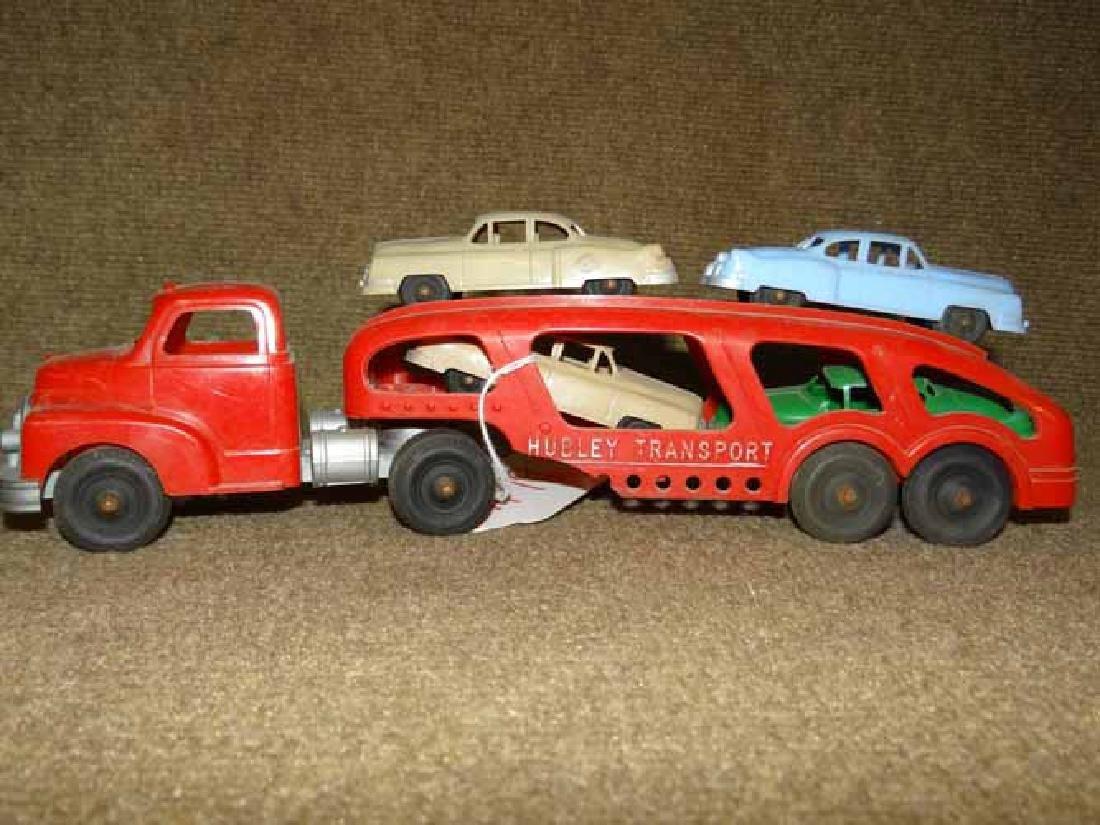 Hubley Transport Plastic Truck & Cars