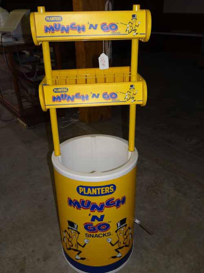 Planter's Much & go Display Stand