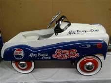 Pepsi Cola Reproduction Pedal Car