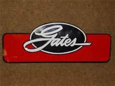 Gates Tin Belts & Hoses Display Rack Topper Sign