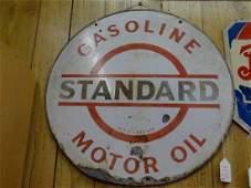 Standard Motor Oil Sign