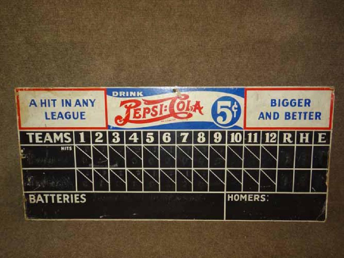 Pepsi Cola Score Board
