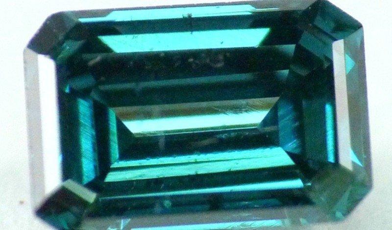 1: 0.32  ctw  Emerald cut Diamond  SI1 - IGL