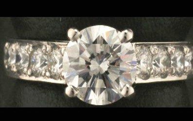2: 1.31 ctw Diamond ring SI2 , J