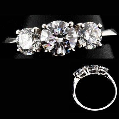 5: 1.10 ctw Diamond ring SI1; J COLOR, EGL