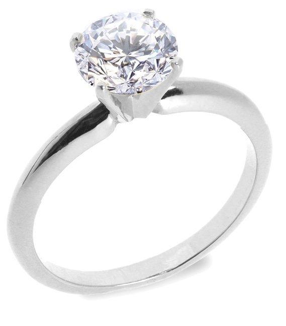 10: 0.97 ctw G/VS2 Diamond solitire ring