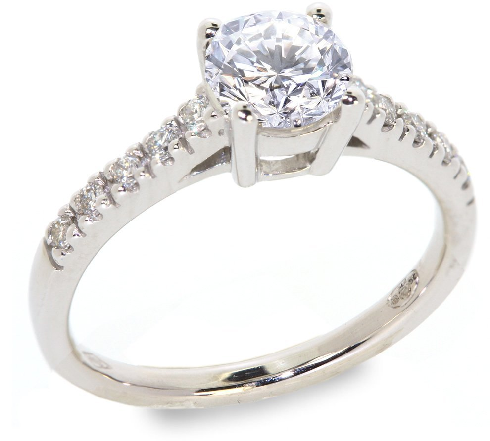 11: 1.18 ctw Diamond ring VS2/G