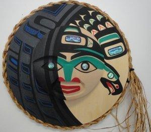 17: Native Half Crescent moon mask