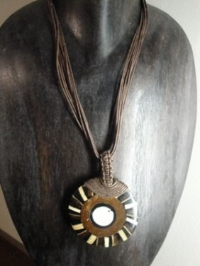11: Hand made necklace