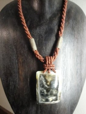17: Hand made necklace