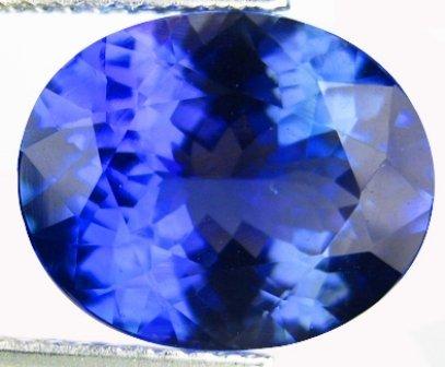 1: IF ---Tanzanite --4.97 carats - IGI Appraisal
