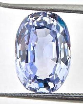 2: Light Blue color ceylone Sapphire 2.65 ct - VVS