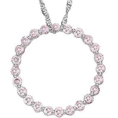 2/3 Ct. Pink diamond Pendant