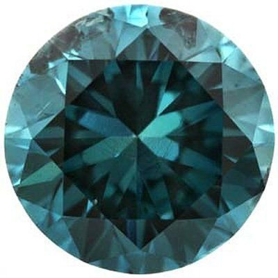2.66 Ct Blue Diamond SI2