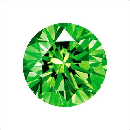Fancy Diamond 2.82 cts - Emerald Green Color