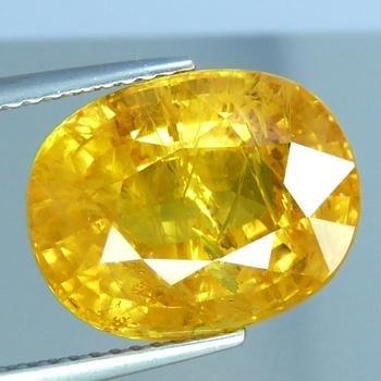 Genuine Yellow Sapphire 8.25 ct