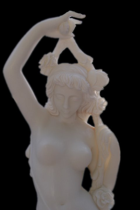 Beautiful Lady - Hand Carved Marble