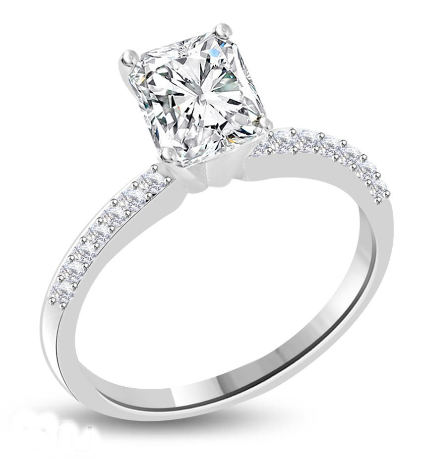 Diamond Solitaire Ring 1.16 ct - E/VS2