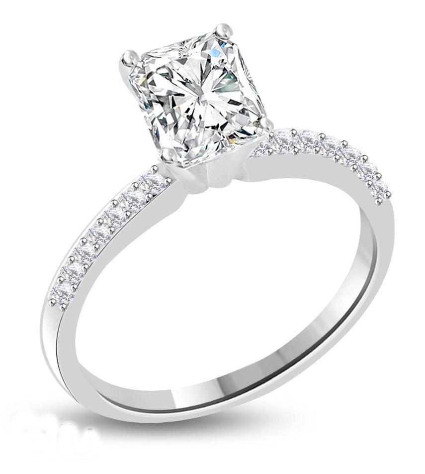 Diamond Solitaire Ring 1.16 ct - E/VS2