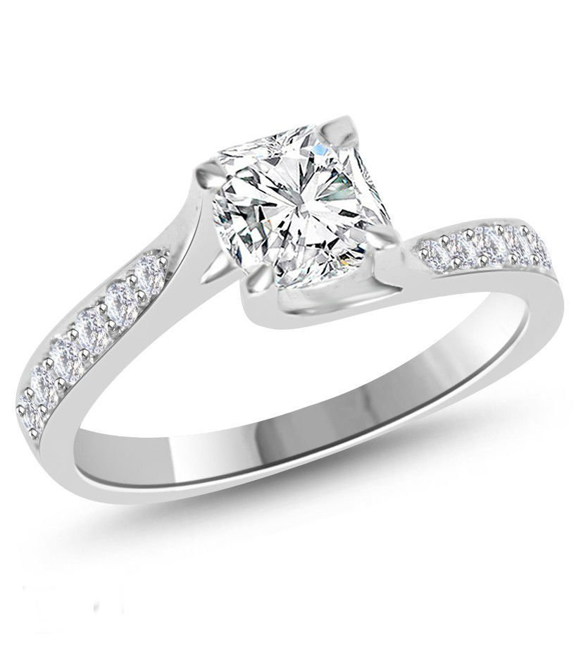 Stunning Diamond Ring 1.25 ct D/VS2