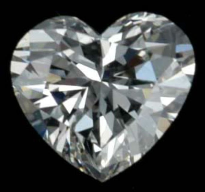 Heart Shape Diamond 1.00 CT - VS2/H - GIA