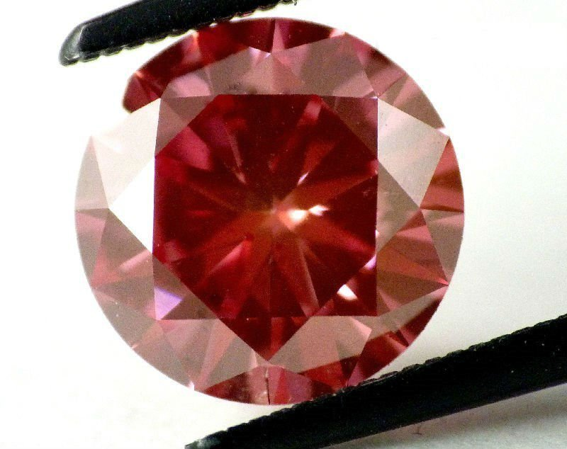 Fancy Red 2.00 ct natural Diamond SI1 - GIA