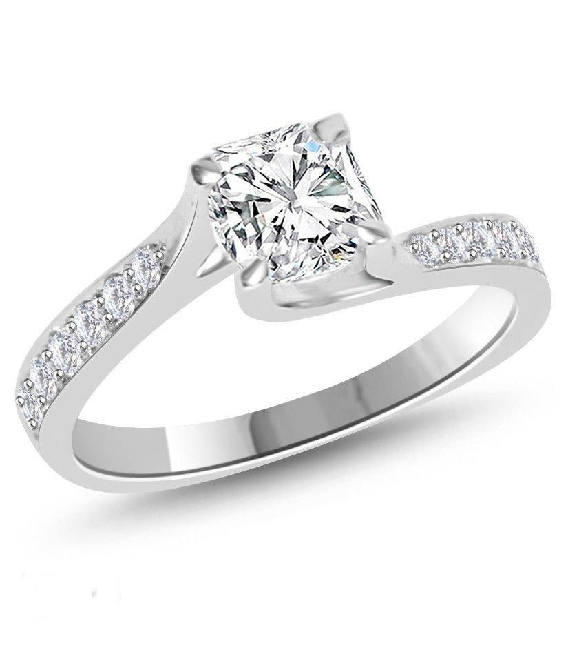 Stunning Diamond Ring 1.25 ct D/VS2