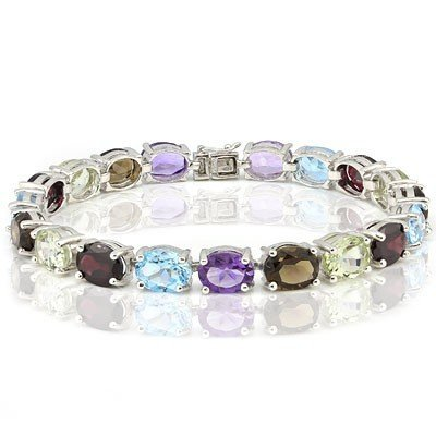 Multiple Gemstones 36 carat Bracelet