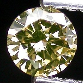 Champagne Diamond 0.61 ct - No Treatment