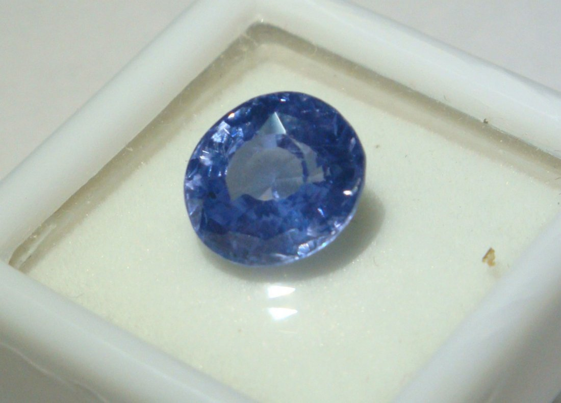 Burma Blue Sapphire 4.66 ct - VVS - no Treatment