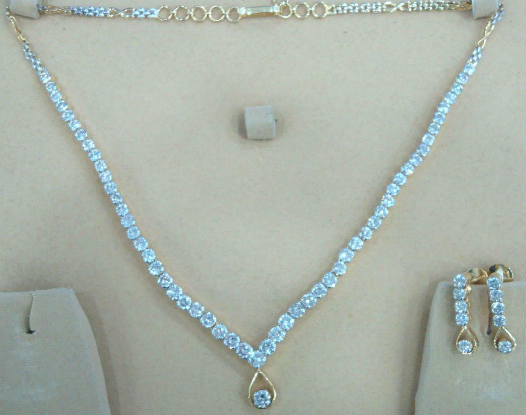 Diamond Necklace Set 12.68 carat - SI -EGL