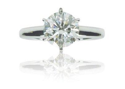 Diamond 0.91 carat solid Gold Diamond Ring