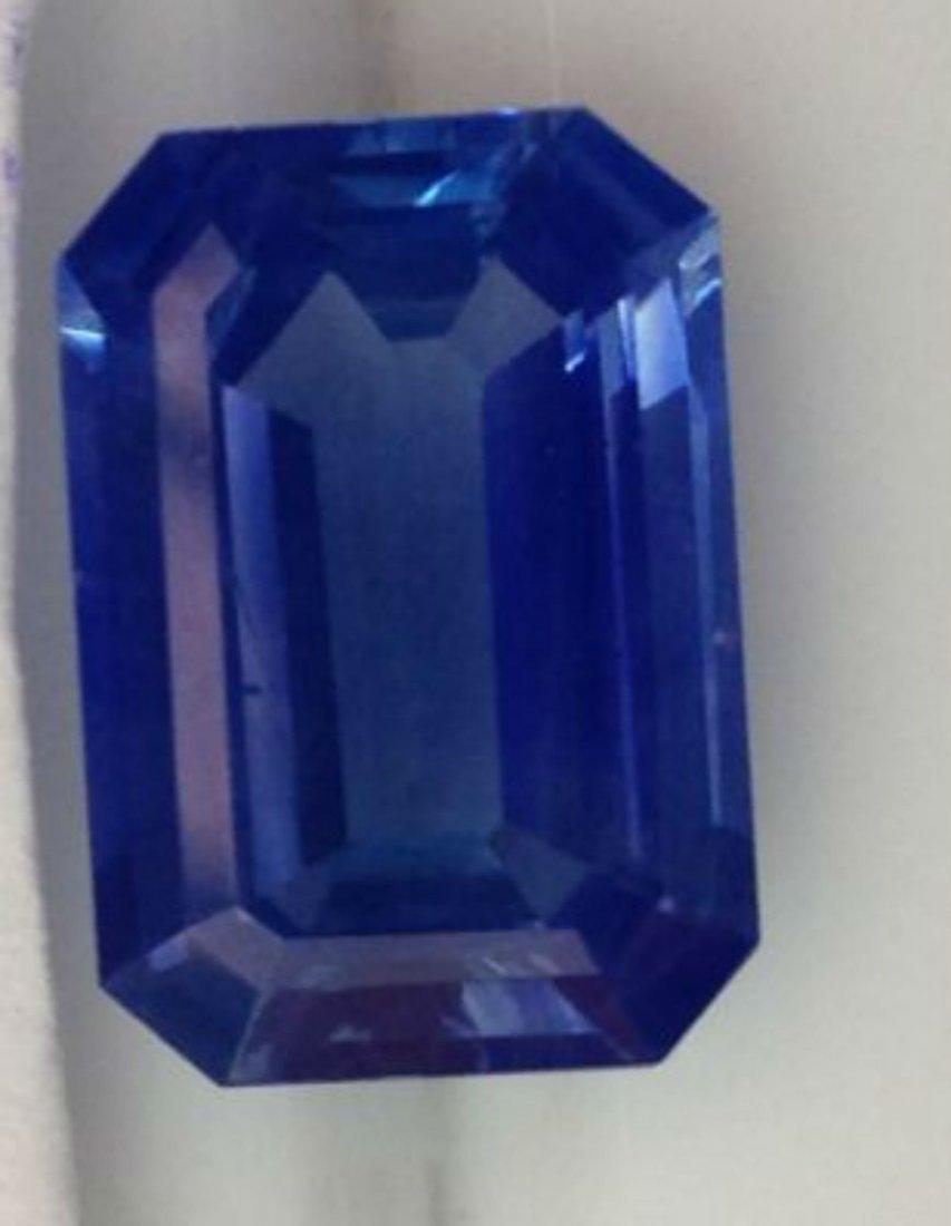 Stunning Kashmir Sapphire 4.59 Ct - Gubelin