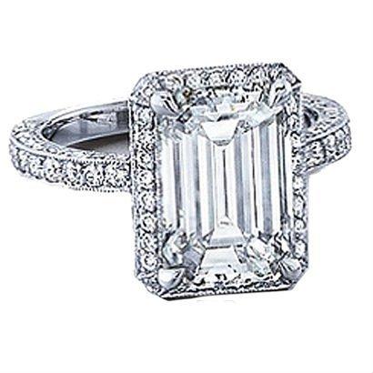 Diamond Emerald Cut VS2 -  2.01 ct -GIA
