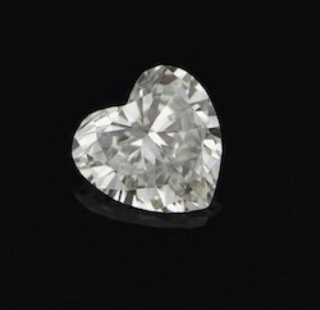 Diamond Heart shape 8.02 ct - D/SI2 - GIA